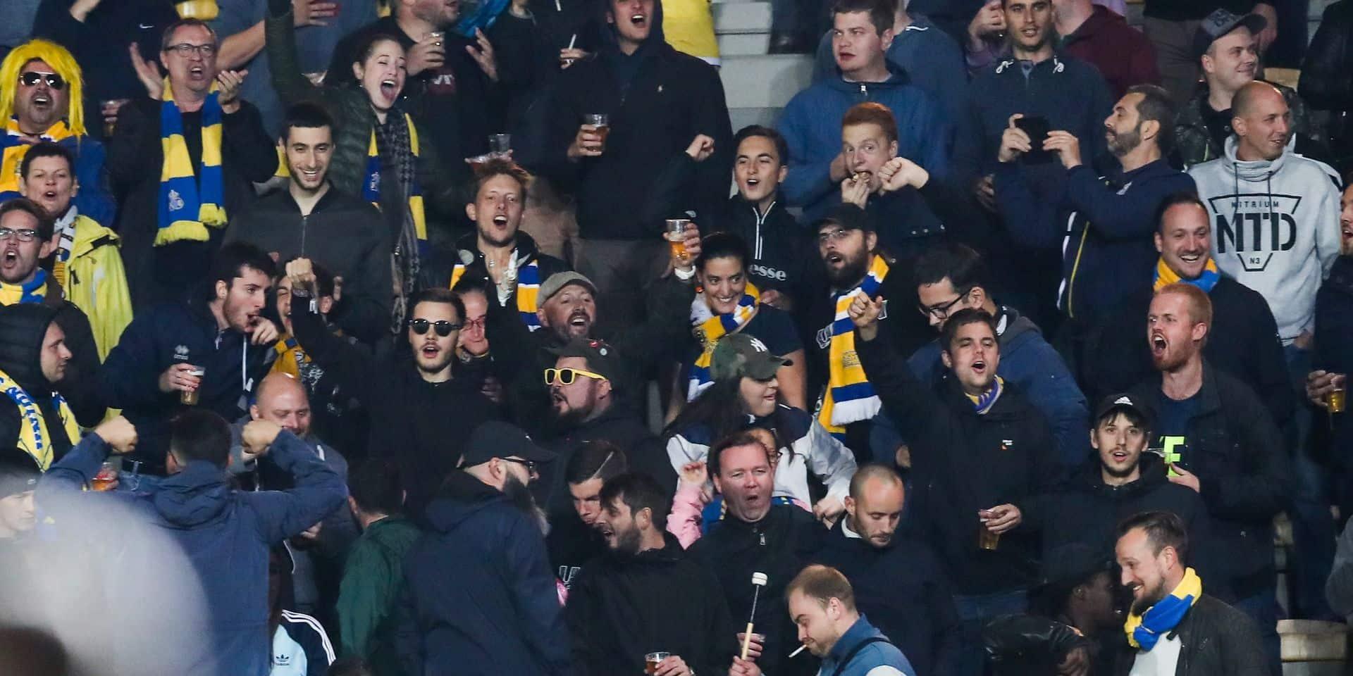 Les supporters saint-gillois prêts pour un derby historique