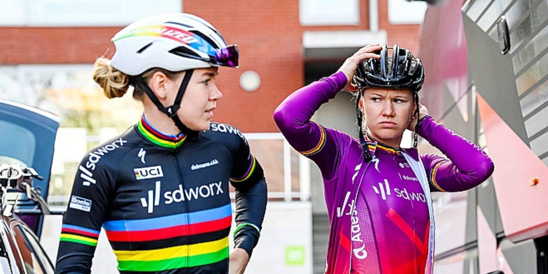 Het Nieuwsblad Dames : D'hoore et Kopecky espèrent combler une lacune