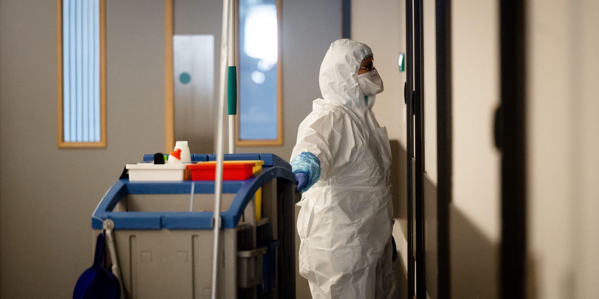 Coronavirus: une légère baisse des hospitalisations ce samedi en Brabant wallon (infographies)