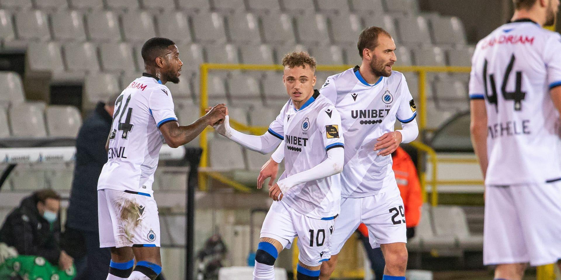 Vainqueur face au Cercle, le Club Bruges n'a pas brillé…