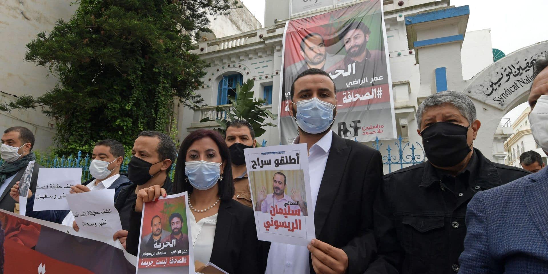 """Un journaliste condamné à cinq ans de prison pour """"agression sexuelle"""", absent du procès: """"C'est une boucherie judiciaire"""""""