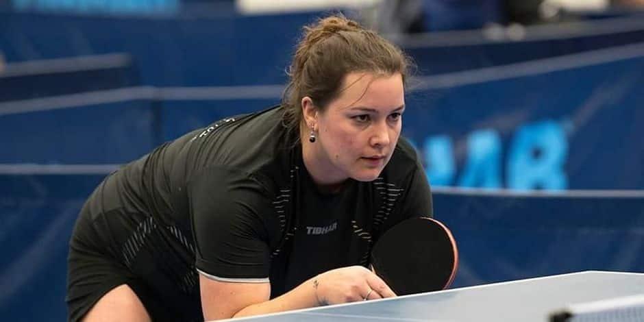 Tennis de table: Le projet féminin se dessine à Jambes avec Romy Borbouse