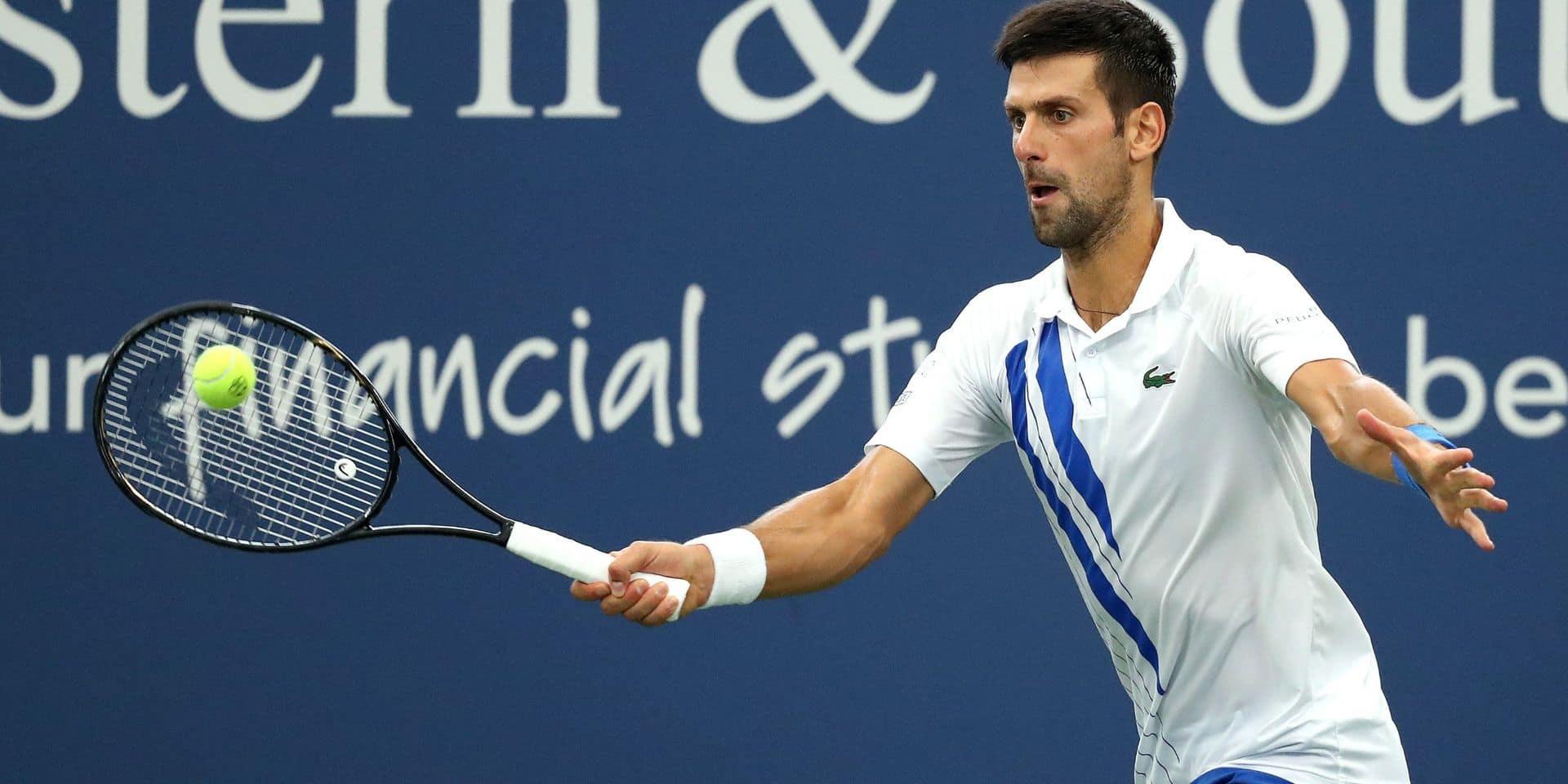 Novak Djokovic gagne le Masters 1000 de Cincinnati