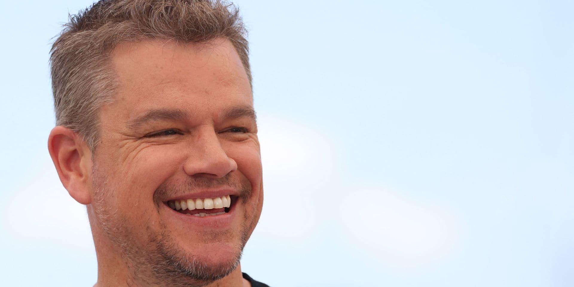 """L'étonnante confession de Matt Damon: """"Vous ne rencontrerez jamais un acteur qui a refusé plus d'argent que moi"""""""