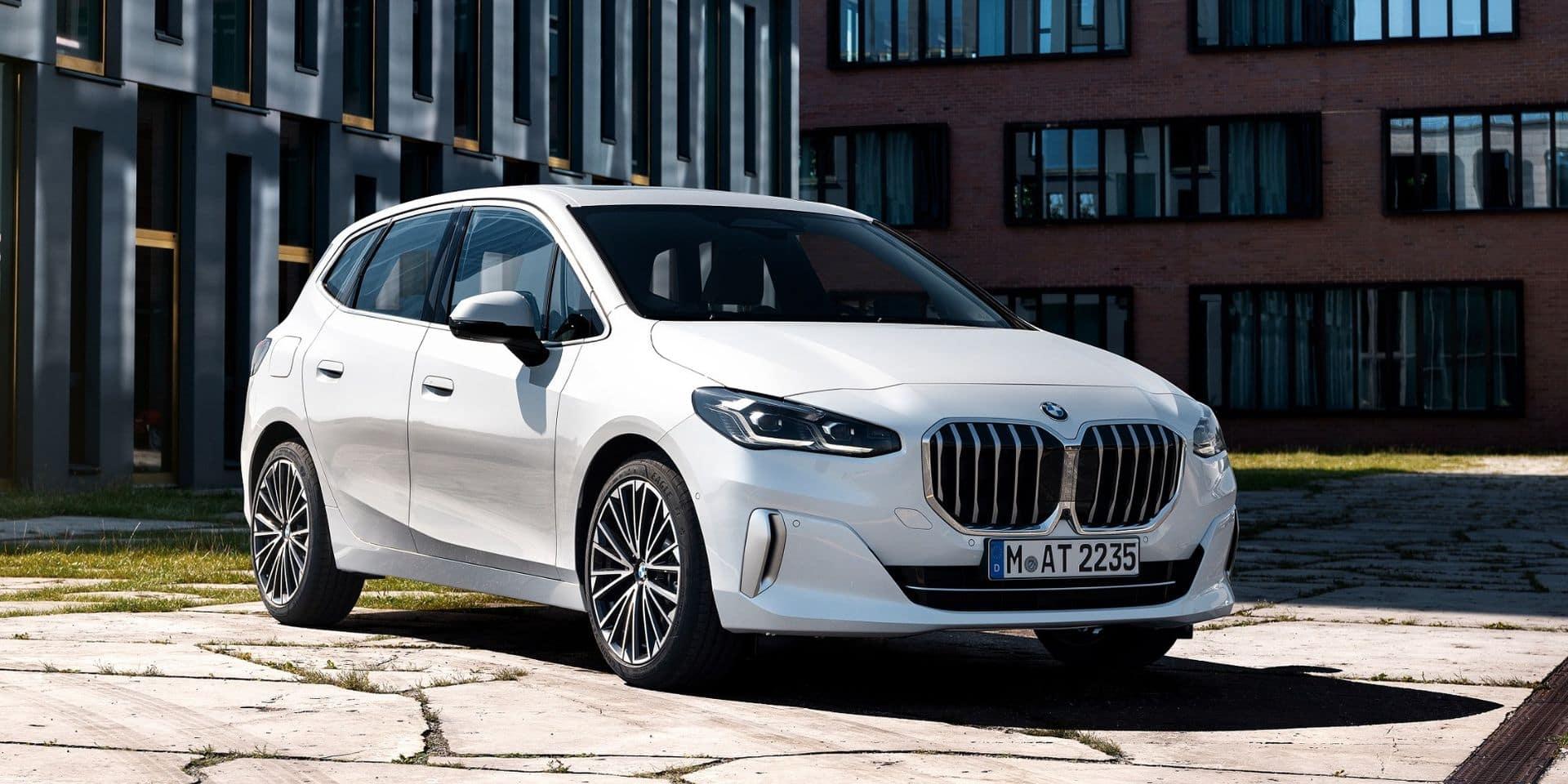 Nouveau nez pour la BMW Série 2 Active Tourer. Et quel nez !