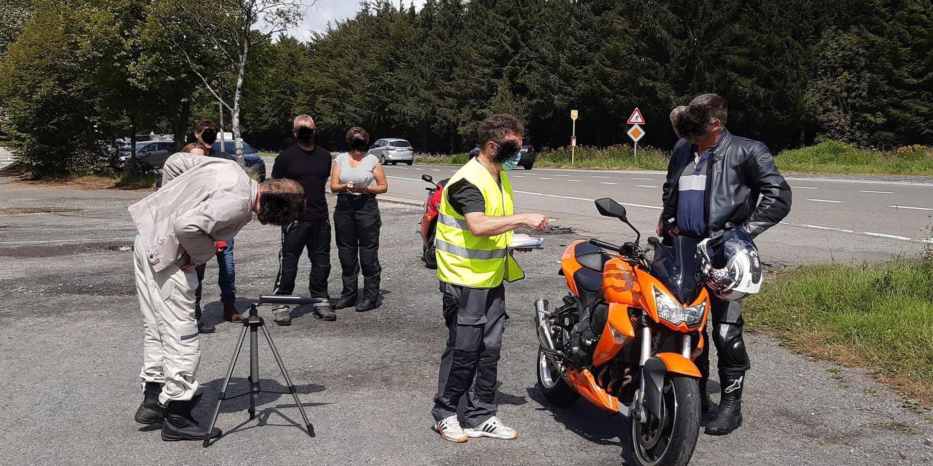 Stavelot-Malmedy : Les motos ciblées par les contrôles