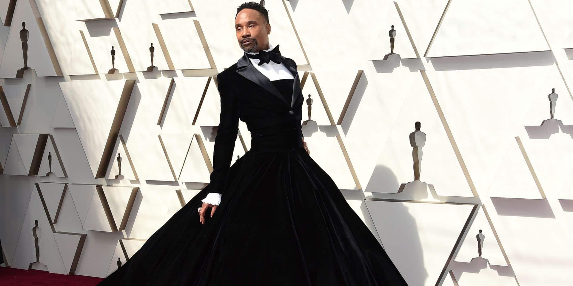 Pourquoi Billy Porter a-t-il porté une robe plutôt qu'un smoking aux Oscars?