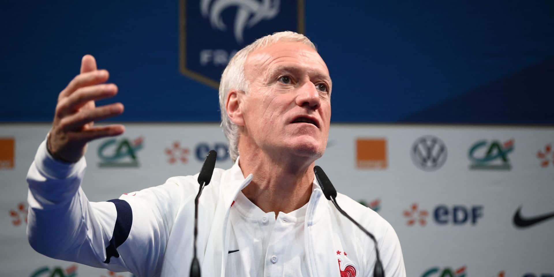 """Didier Deschamps à la veille du choc: """"Ce qui se passera demain ne changera pas ce qui a eu lieu il y a trois ans"""""""