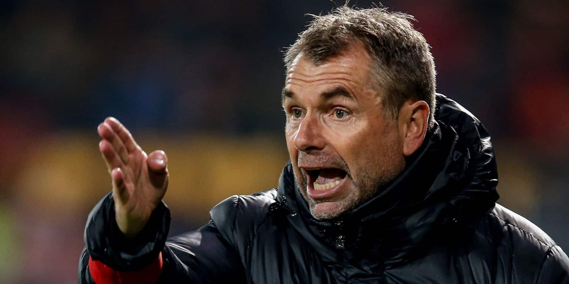 Bernd Hollerbach sera absent samedi à Gand