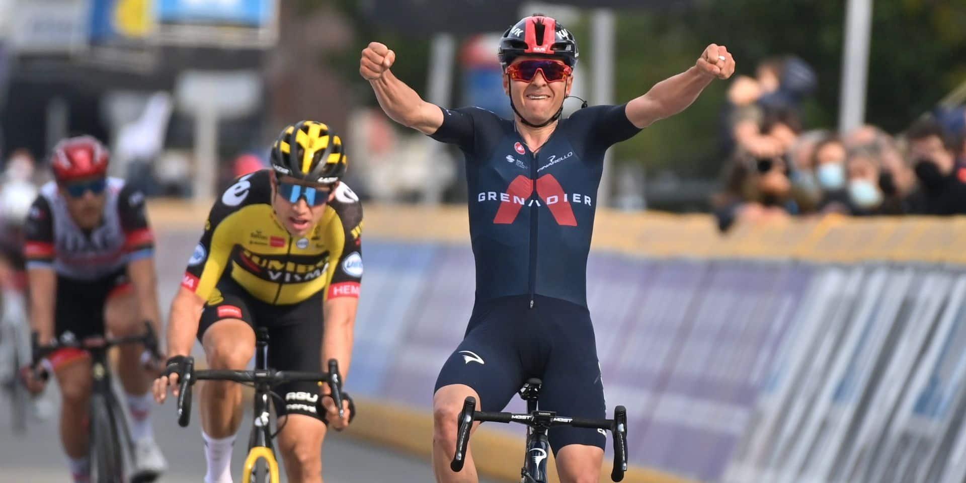 """Pidcock bat Van Aert au sprint à la Flèche Brabançonne : """"C'est un peu une surprise pour moi"""""""
