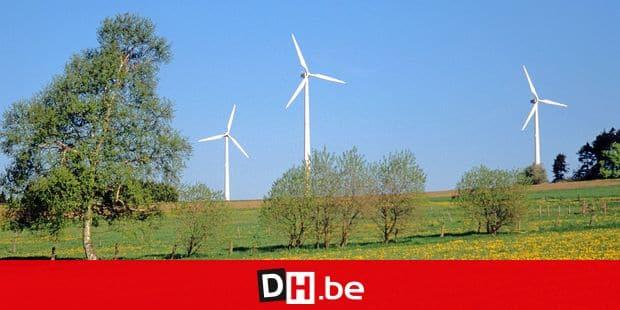 Alternative energy, wind turbines in Wallonia; Energie alternative,eoliennes en Wallonie;alternatieve energie,windmolen Reporters / EUREKA