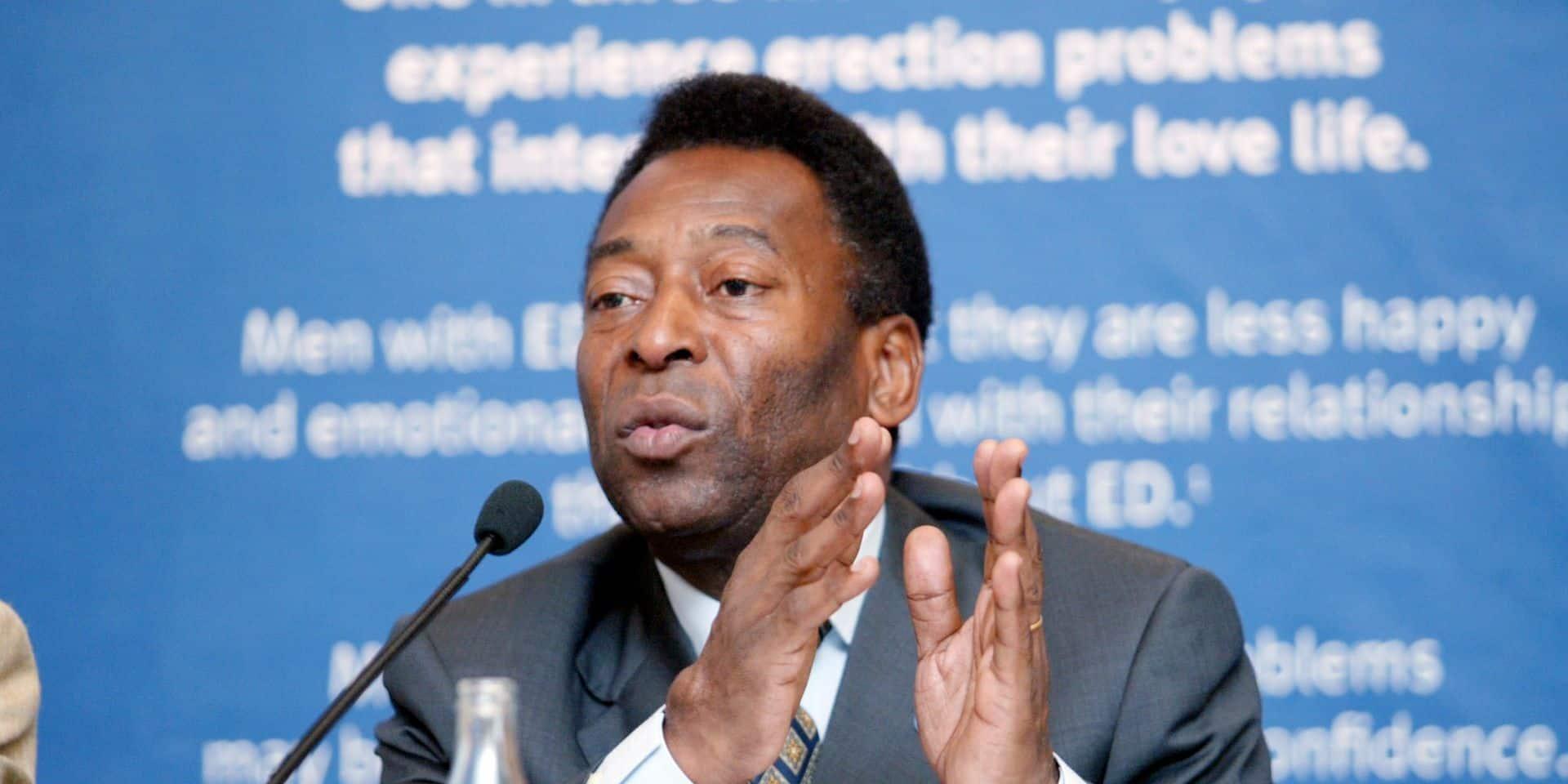 """Pelé, hospitalisé, va mieux et pourra bientôt sortir des soins intensifs: """"Il est prêt à rentrer chez lui"""""""