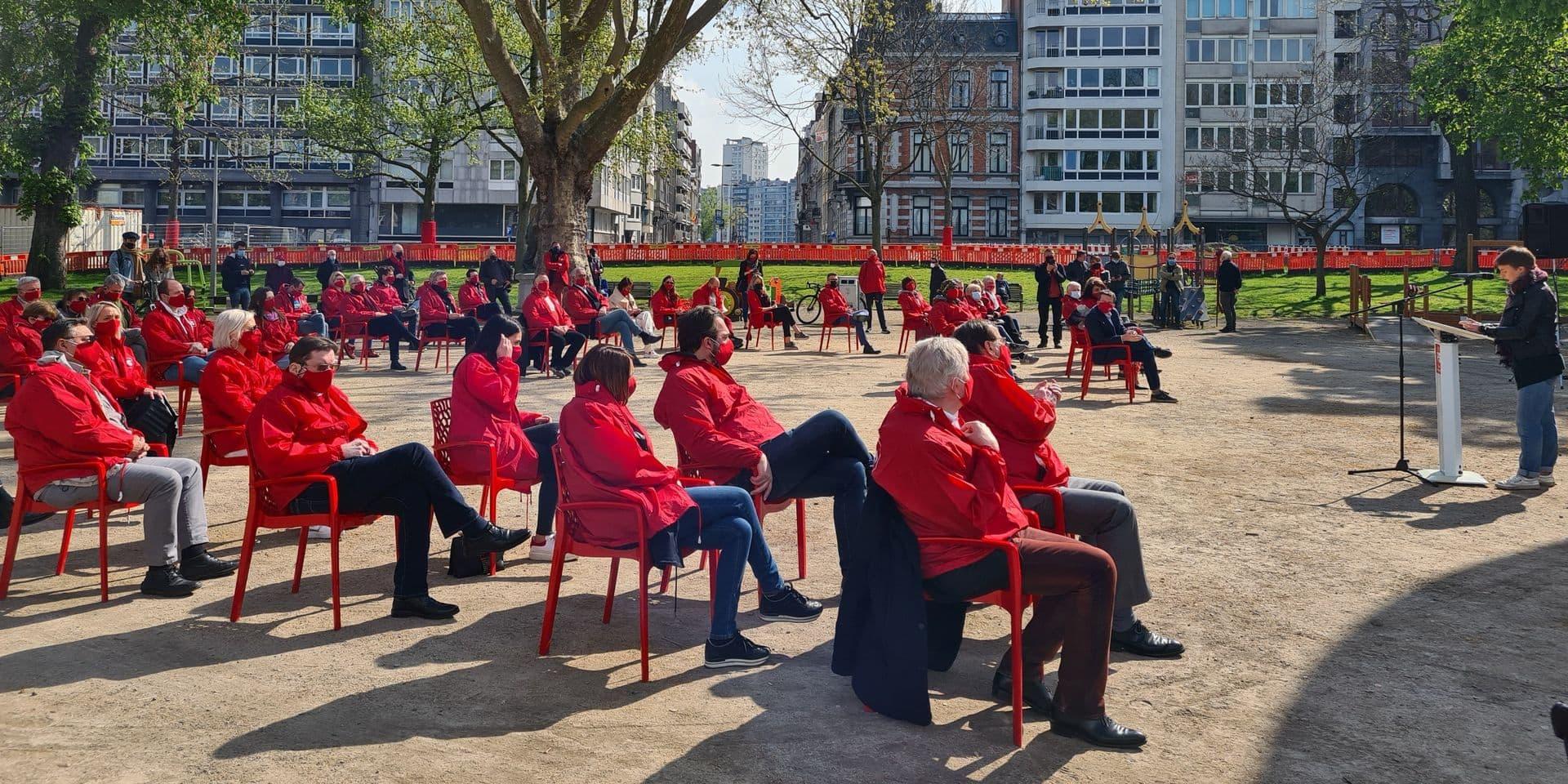 Discours du 1er mai du PS à Liège: entre craintes et espoir!
