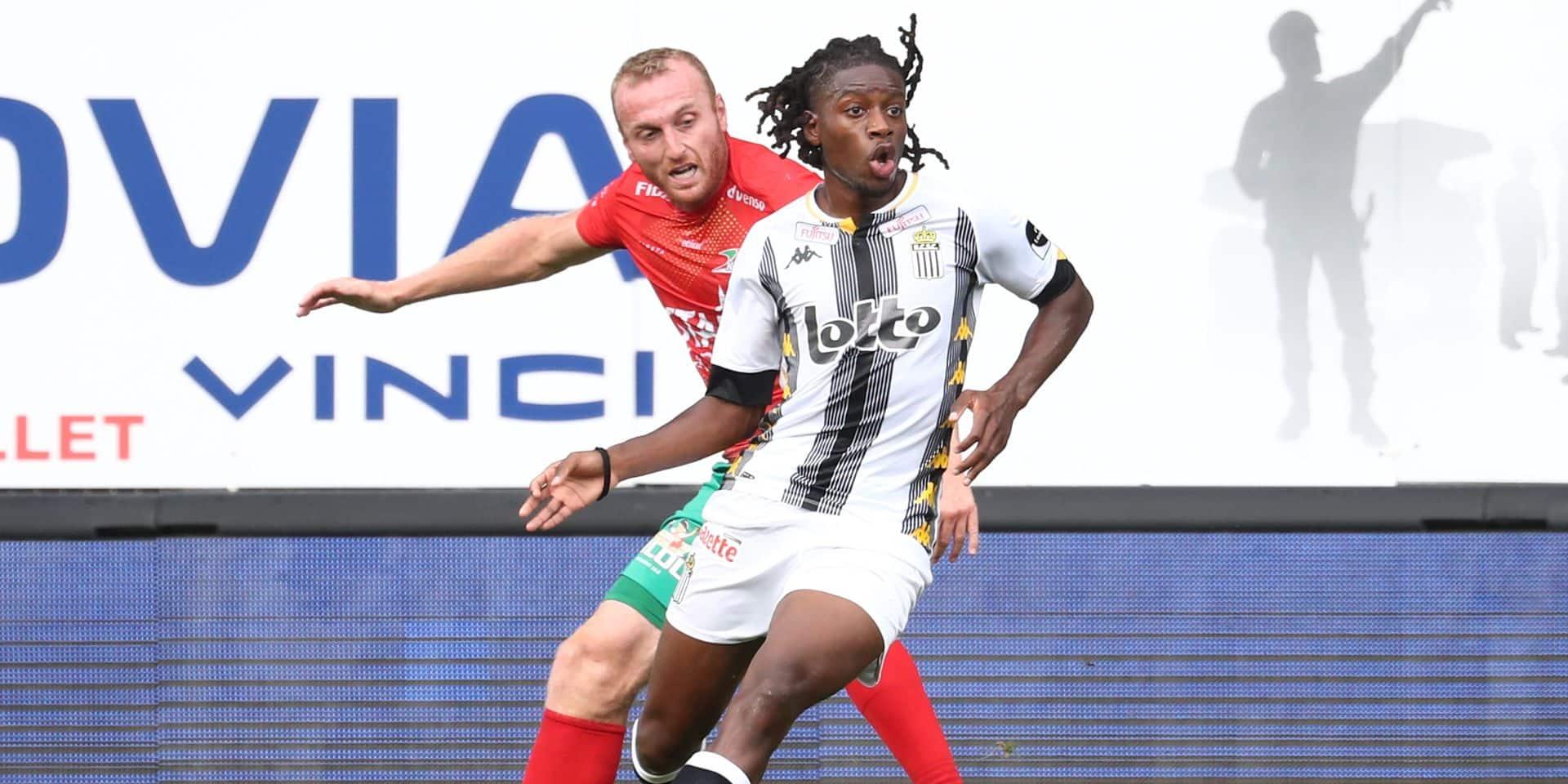 """Joris Kayembe prêt à assumer la concurrence à Charleroi: """"Je suis en concurrence avec tout le monde"""""""