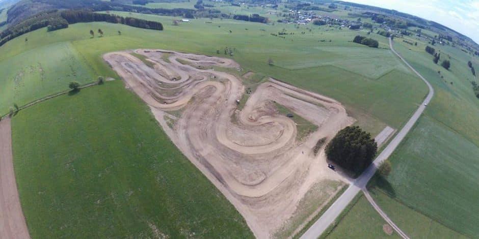 30 000 euros pour pérenniser le terrain de motocross de Lierneux !