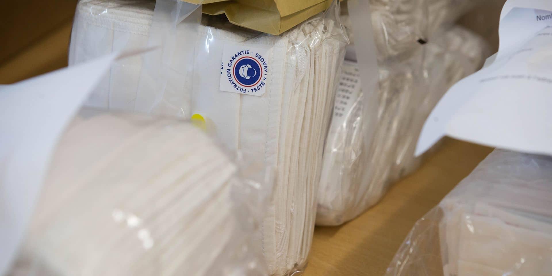 La Louvière: nouvelle distribution de matériel de protection au personnel soignant