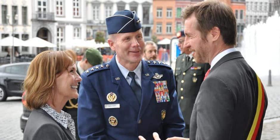 L'armée américaine à Mons? Une possible bonne nouvelle prise avec précaution