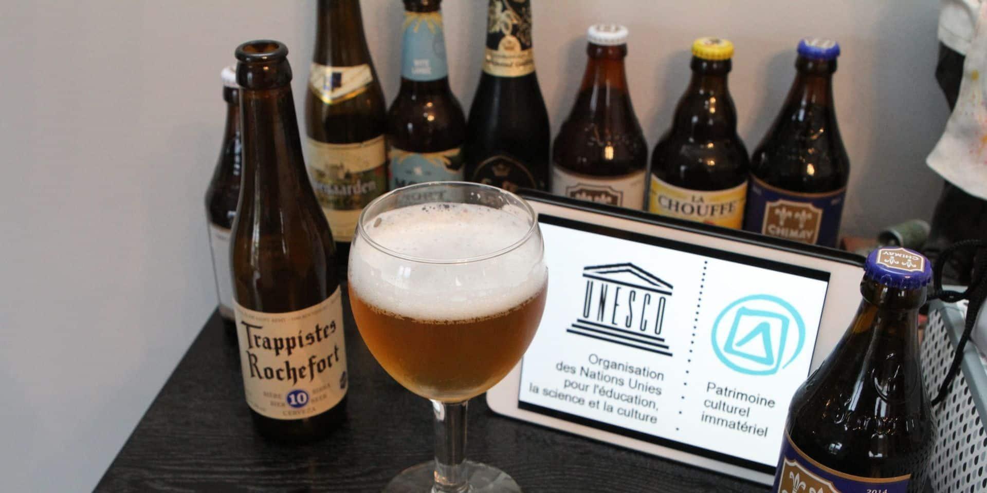 Les bières belges sont reconnues au patrimoine immatériel de l'UNESCO.
