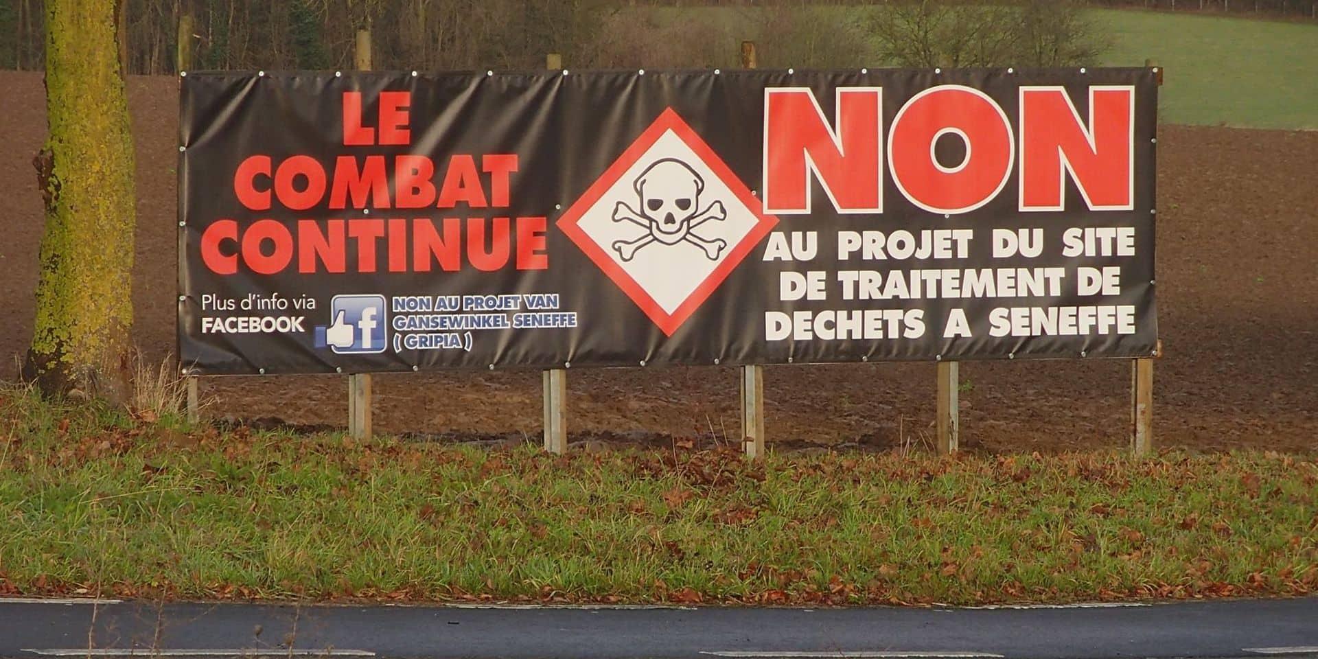 Projet Van Gansewinkel à Seneffe : 3 ans après, le Conseil d'Etat a enfin tranché !