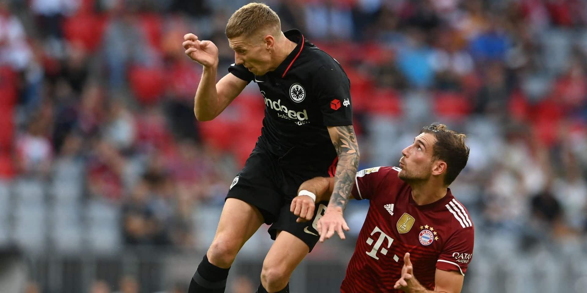 Bundesliga : le Bayern battu pour la première fois de la saison, à domicile par Francfort