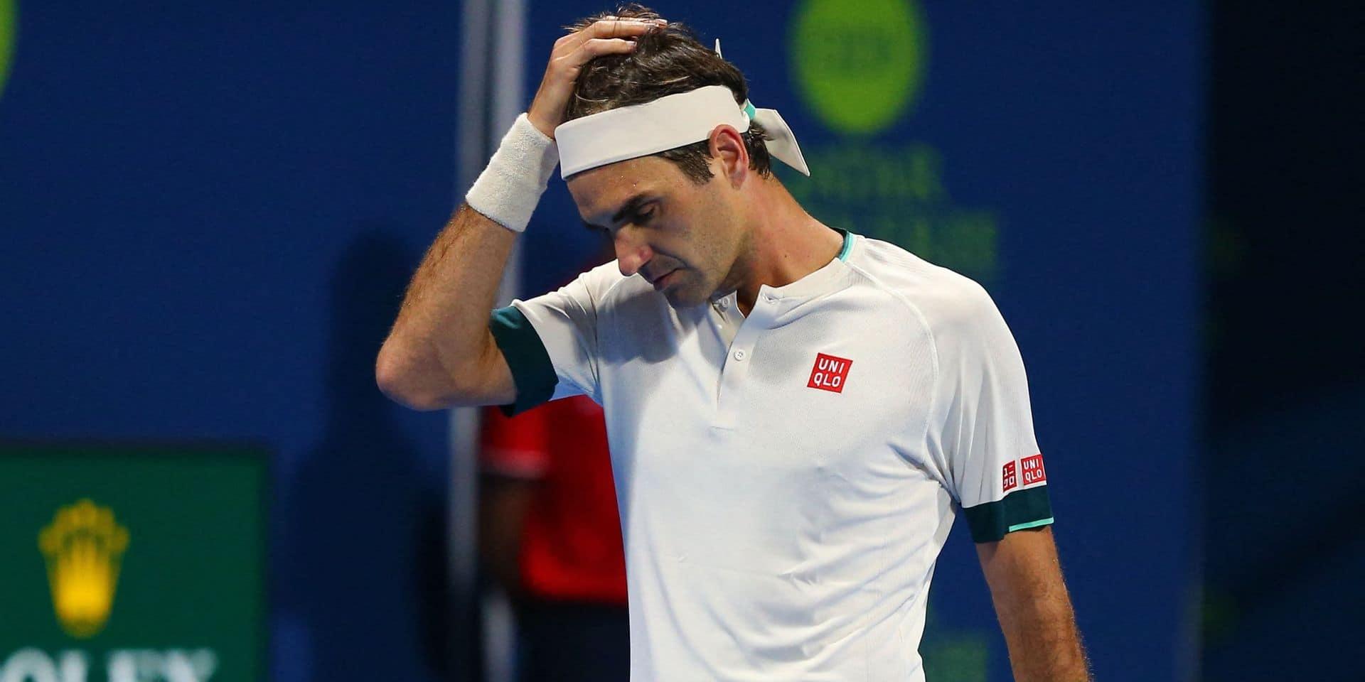 ATP Dubaï: Roger Federer renonce au tournoi de Dubaï