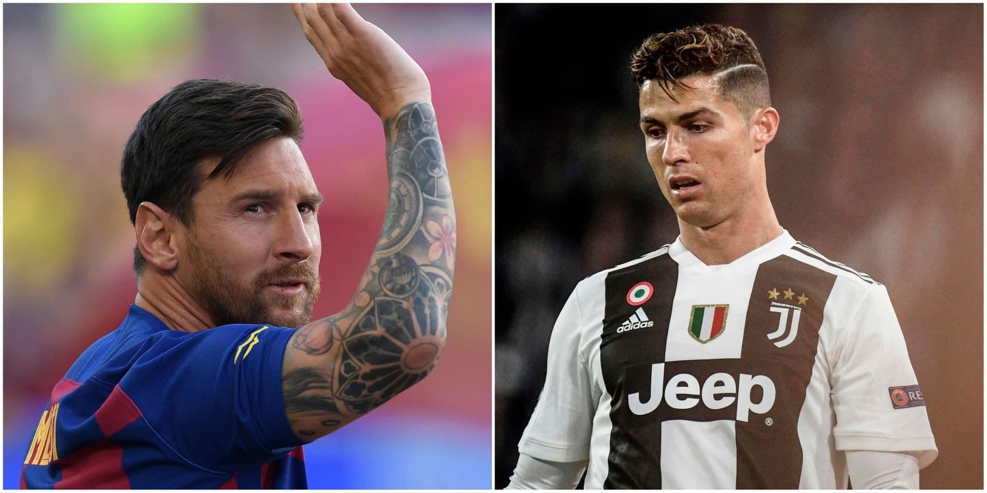 """Comment la Juventus a tenté """"une approche discrète"""" pour faire venir Messi jouer aux côtés de Ronaldo!"""