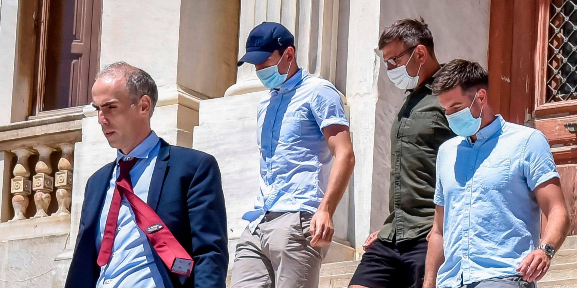 """Début du procès du joueur de ManU Harry Maguire, accusé d'""""aggresion"""" et """"insultes"""" sur une île grecque"""