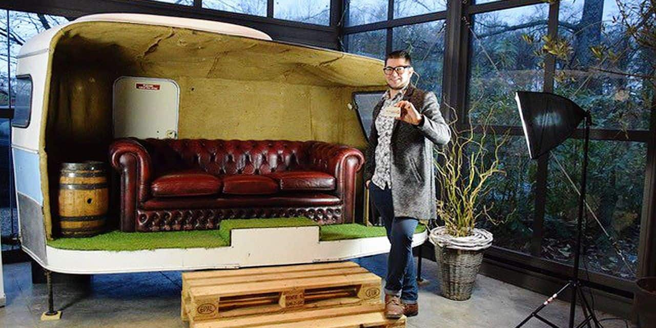 Alexis Fronistas de La Caravane Passe élu artisan 2020