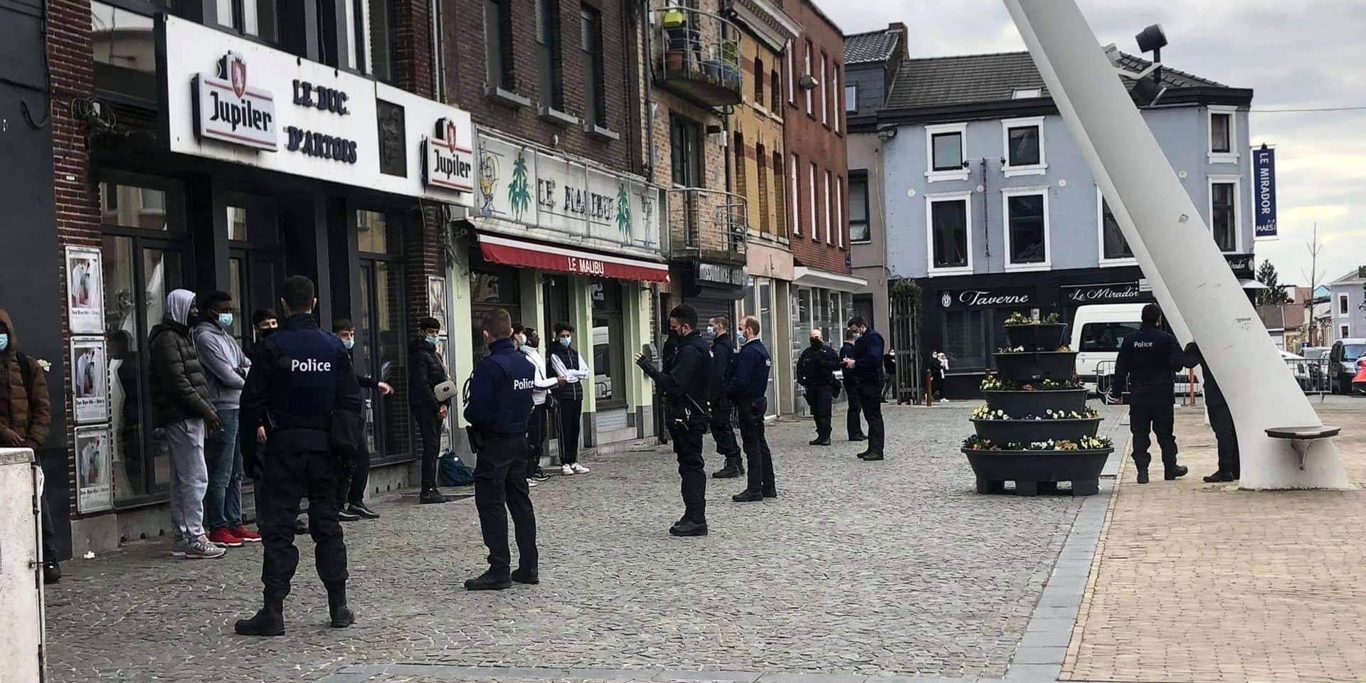 """Affrontements entre bandes urbaines: des contrôles """"massifs"""" opérés dans le centre-ville de La Louvière"""