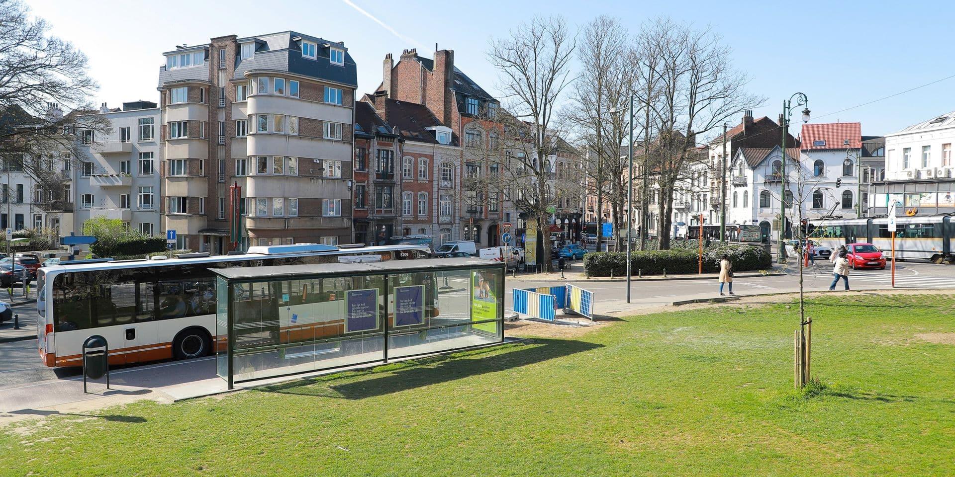 Uccle : le projet régional de réaménagement du square des Héros est au point mort