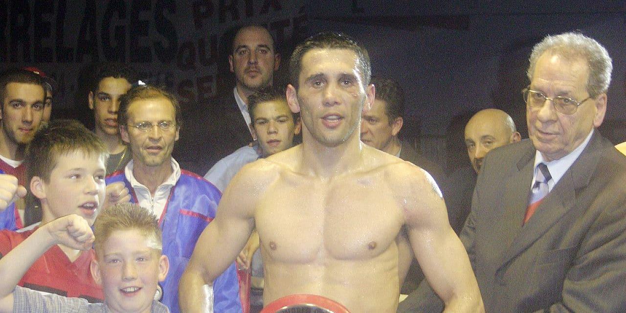 """La face cachée du boxeur Alex Polizzi: """"J'étais joueur au Sporting de Charleroi"""""""