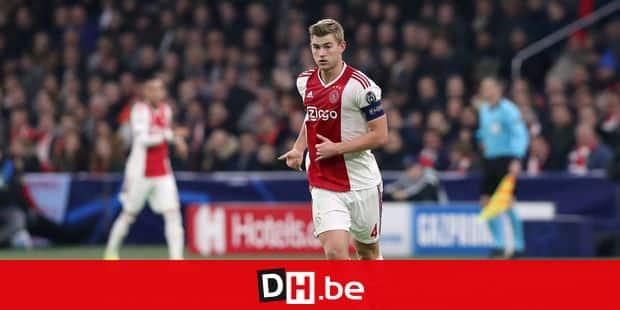 Le Néerlandais Matthijs de Ligt élu Golden Boy de l'année 2018