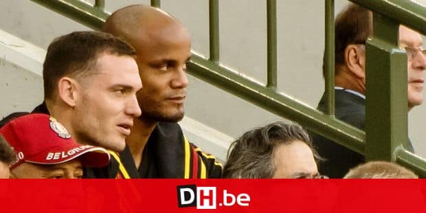 Belgium, Brussels, Jun 11, 2018 - Friendly game between Belgian national team Red Devils and Costa Rica, as part of preparations for the 2018 FIFA World Cup in Russia - Thomas Vermaelen & Vincent Kompany Copyright Danny Gys / Reporters Reporters / GYS
