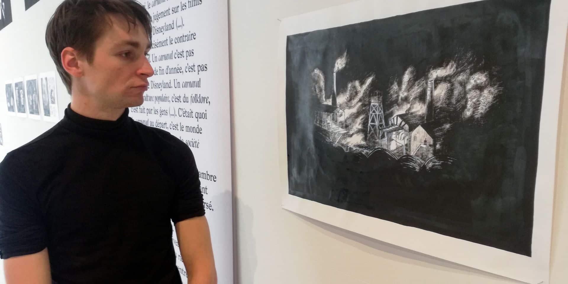 Une expo sur les Géants et les mythes carolos par un jeune illustrateur de la Cambre