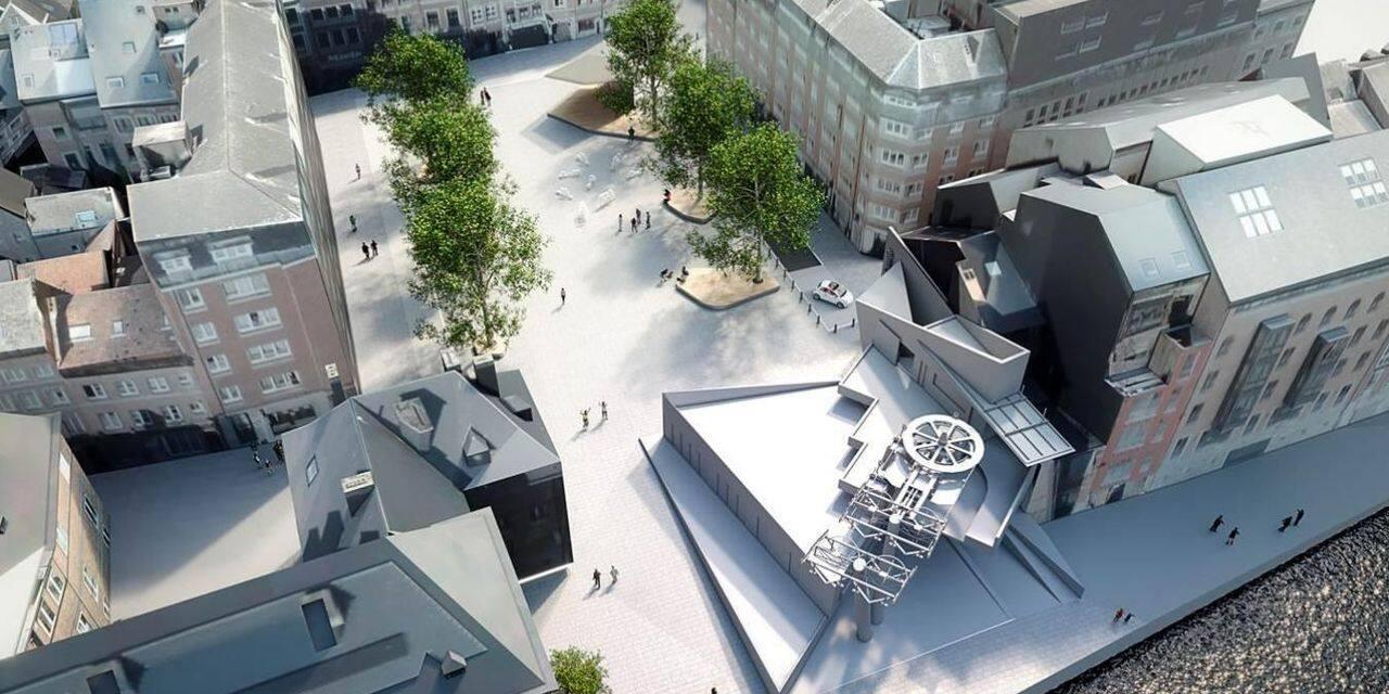 Namur : début de l'aménagement de la Place Maurice Servais
