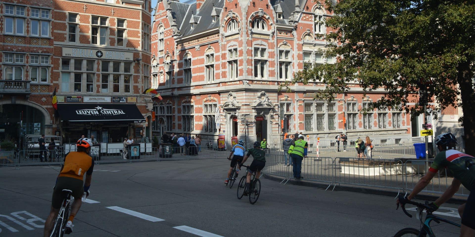 A Louvain, c'était le calme avant l'arc-en-ciel ce jeudi