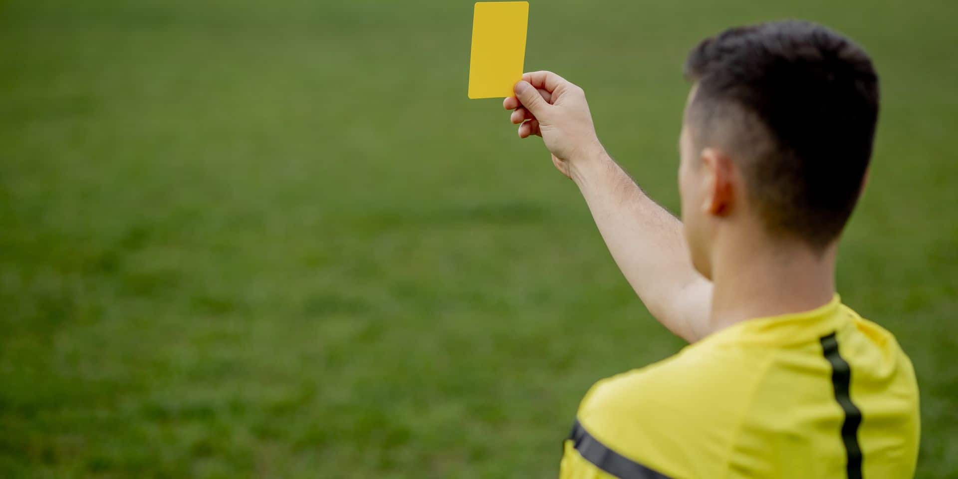 Referee,Showing,A,Red,Card,To,A,Displeased,Football,Or