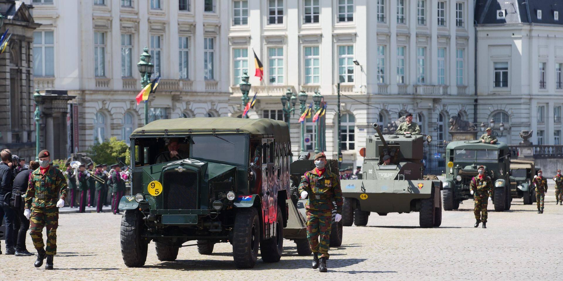 Défilé réduit, interdit au public et rues fermées dans le centre de Bruxelles pour la Fête nationale