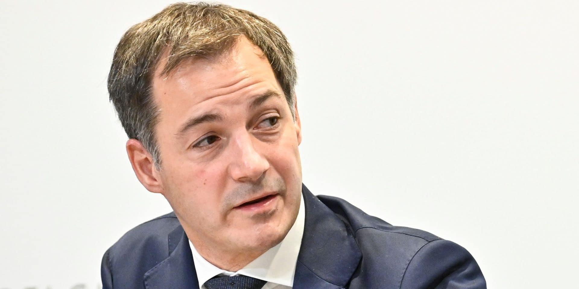 Budget fédéral: Alexander De Croo et les principaux ministres du gouvernement se sont quittés dimanche soir sans accord