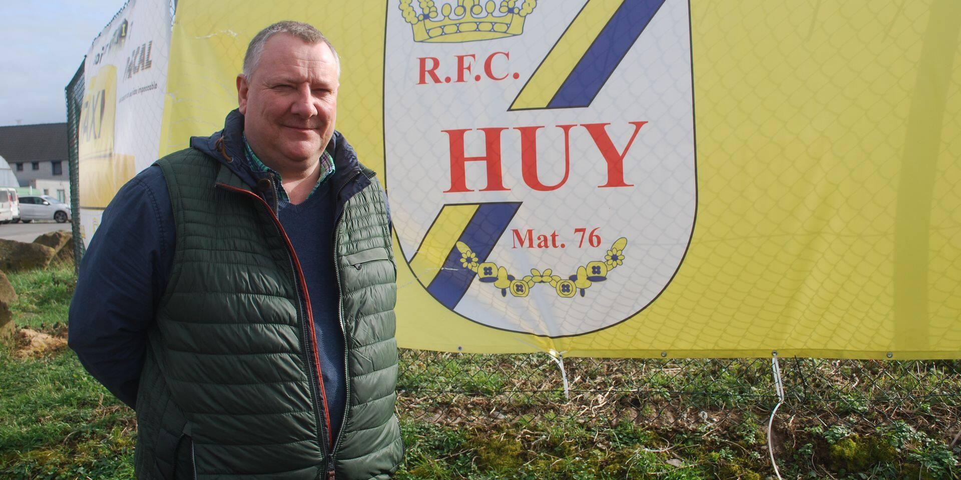 """Christophe Coulée, nouveau président du RFC Huy: """"La priorité sera donnée à la formation des jeunes à Huy"""""""