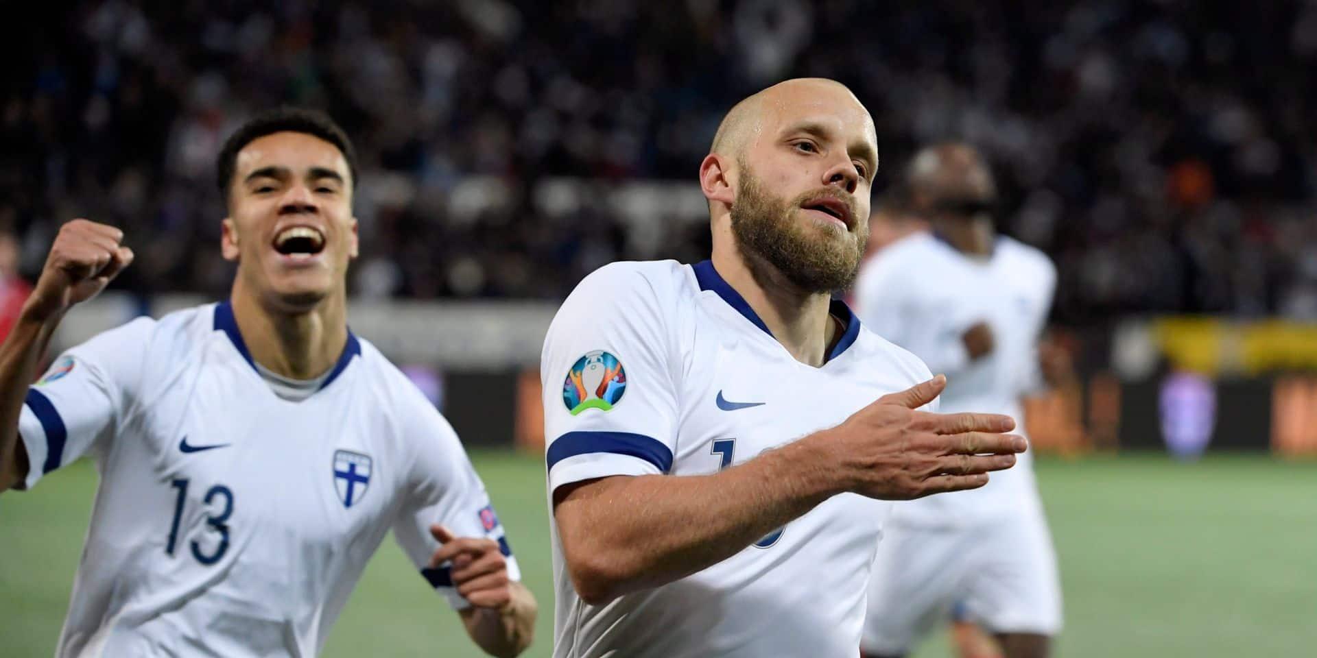 La Finlande se qualifie pour le premier Euro de son histoire !