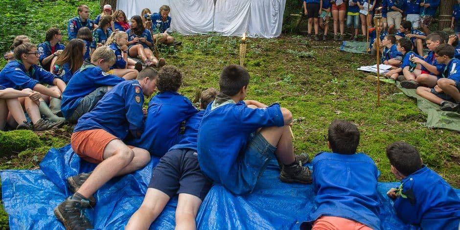 Camps scouts touchés par les intempéries : la phase provinciale de crise déclenchée à Namur