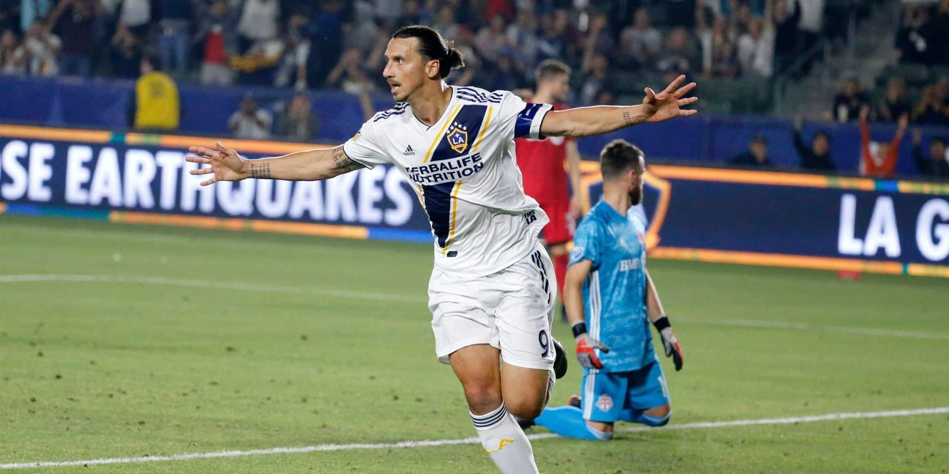 """Ibrahimovic annonce son départ du Los Angeles Galaxy: """"Vous vouliez Zlatan, je vous ai donné Zlatan. Maintenant, retournez voir du baseball"""""""