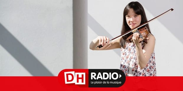 Belgian violinist Sylvia Huang poses for the photographer, ahead of the first round of the Queen Elisabeth violin Competition 2019, at the Brussels' Flagey, Friday 26 April 2019. BELGA PHOTO BENOIT DOPPAGNE
