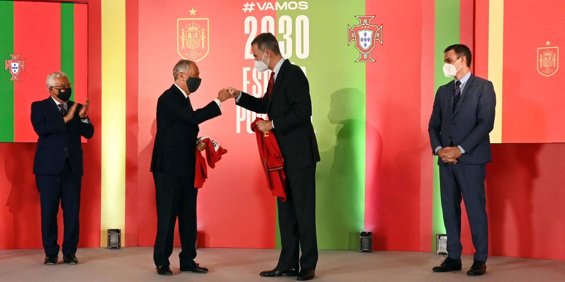 Mondial 2030 : l'Espagne et le Portugal annoncent officiellement leur candidature commune