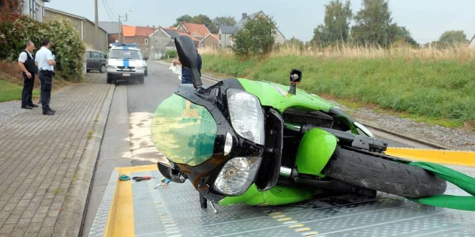 Wavre/OLLN: Sale journée pour les motards