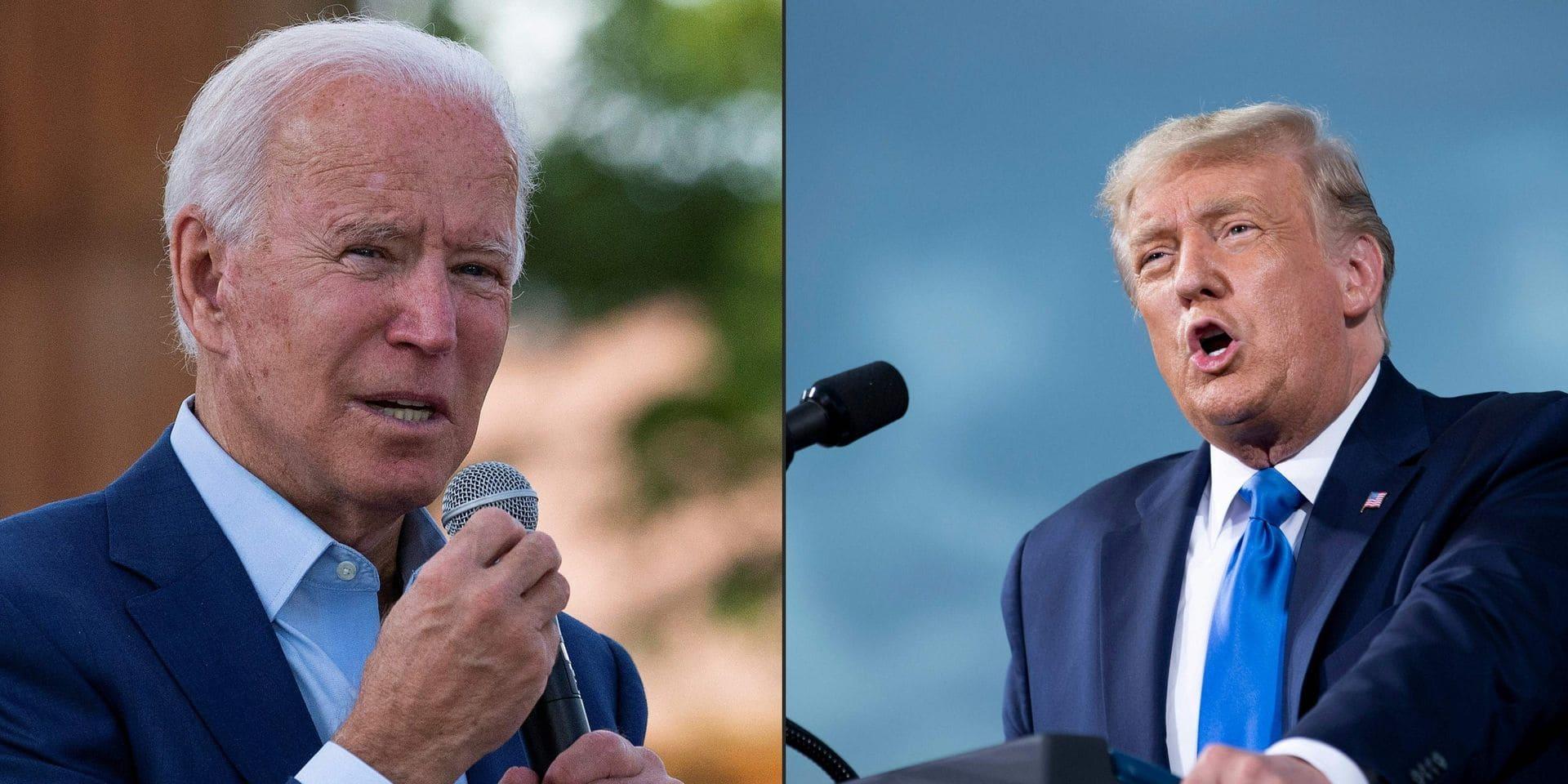 Donald Trump réclame que Biden fasse un test antidopage avant ou après leur premier débat