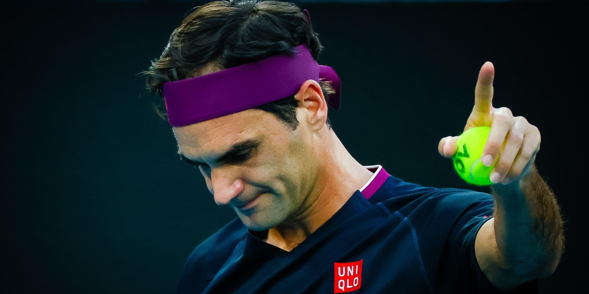 """Roger Federer sait quand il sera de nouveau à 100% de ses moyens: """"Je m'entraîne sans douleur"""""""