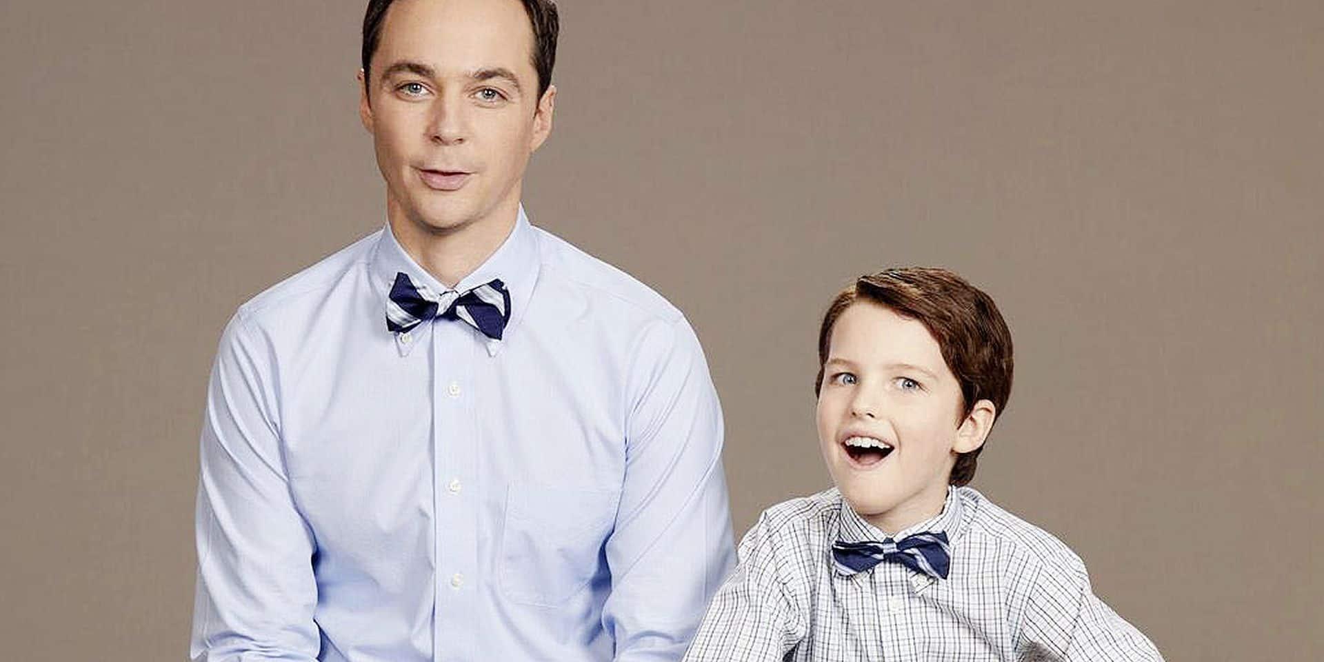 """Qui est Iain Armitage, l'acteur qui joue le jeune Sheldon Cooper: """"Jims Parsons est incroyable, on est devenu copains"""""""