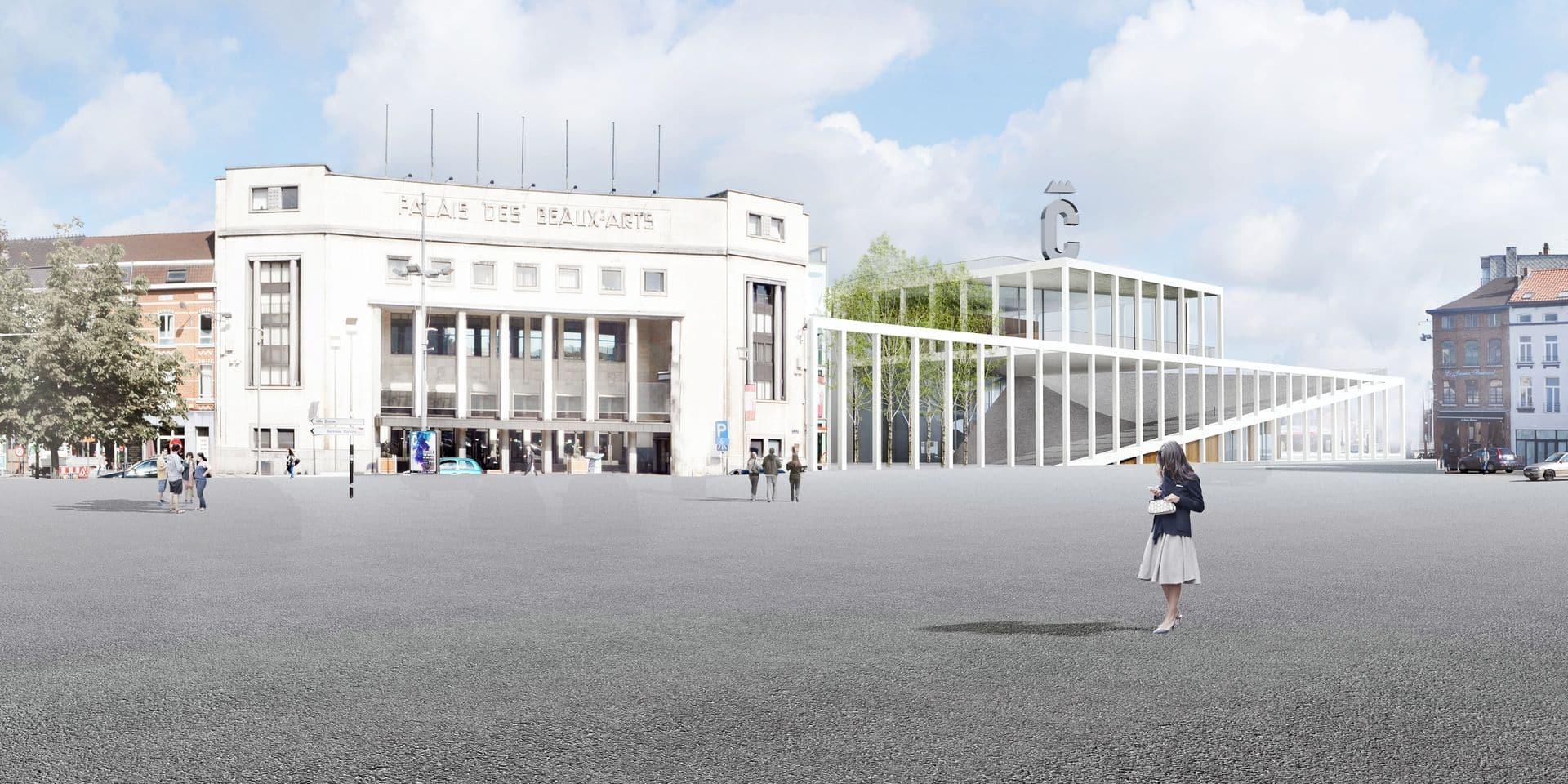 Charleroi s'offre un centre de congrès à 24,7 millions